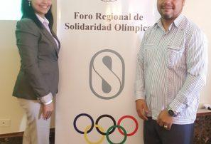 Rodríguez y Leguizamón participan en foro programa Solidaridad Olímpica
