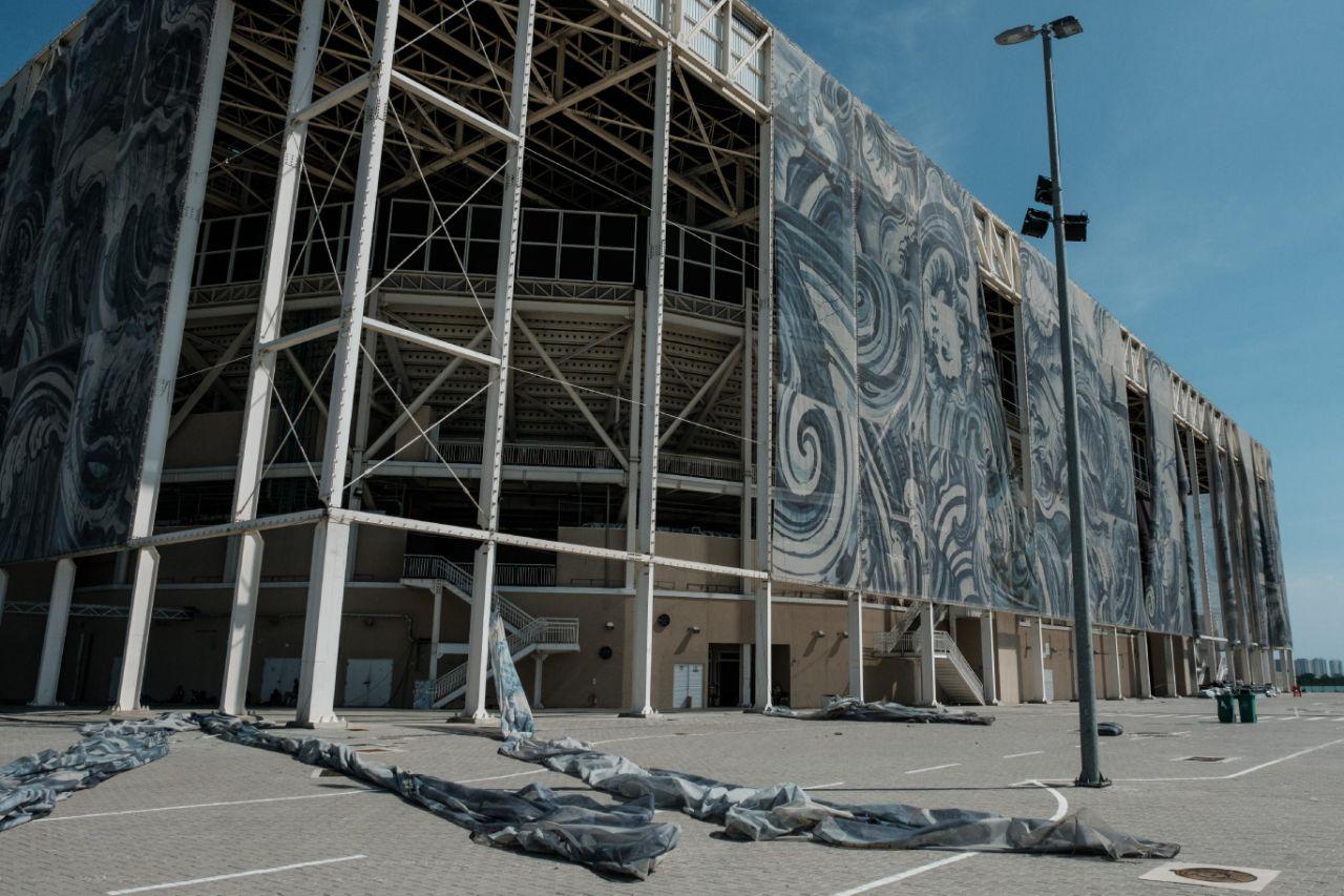 Deterioro de las sedes olímpicas sigue en Brasil 9 meses después de Juegos
