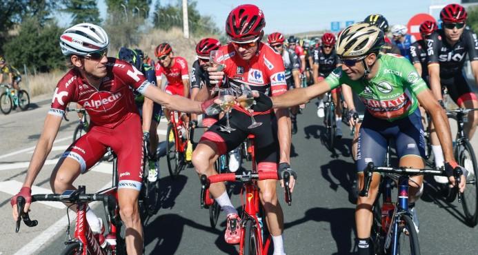 Froome ganó la Vuelta a España 2017 y completa el doblete