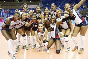 Voleibol RD en el noveno lugar entre los mejores equipos