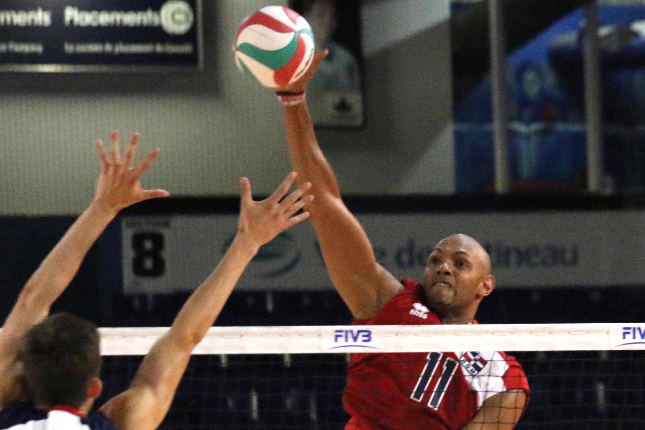Voleibol masculino RD supera a México en Copa Panamericana