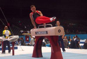 Audrys Nin Reyes gana dos oros y un bronce campeonato gimnasia Perú