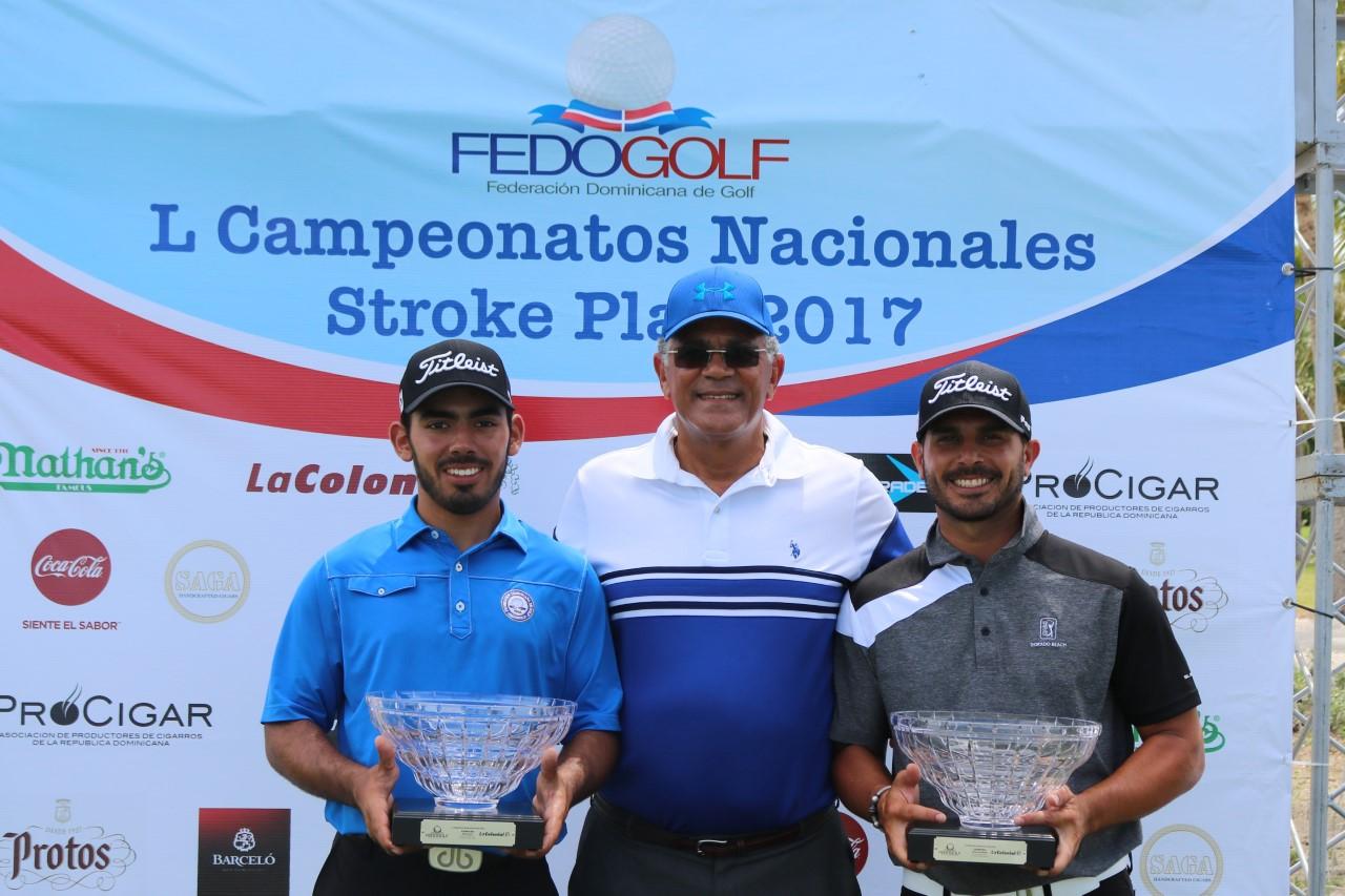 Juan José Guerra gana versión 50 de los Campeonatos Nacionales de Fedogolf