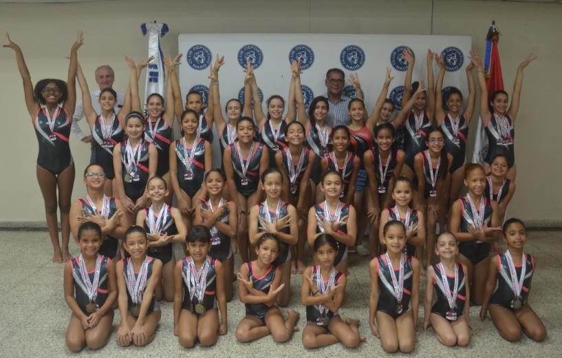 Naco, My Kids y OD Gym dominan gimnasiada distrital