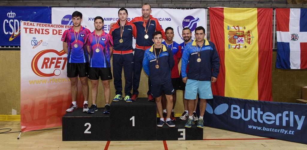 Santos y Gálvez, bronce en dobles Iberoamericano tenis mesa