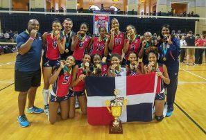 Equipo RD voleibol sub-20 gana oro en Torneo Internacional
