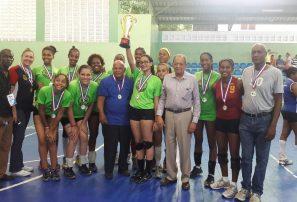 DN gana torneo femenino Nacional Voleibol Juvenil