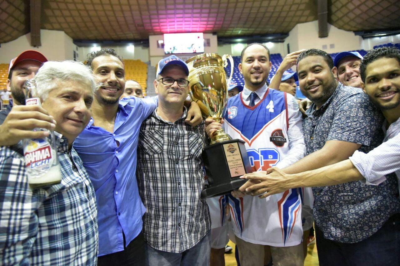 Equipo CDP, campeón del superior de Santiago