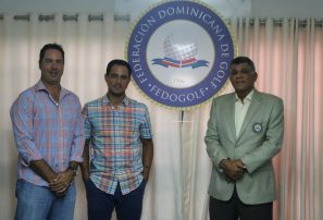 Golfistas Linares y Olivares representarán RD en torneo en Colombia