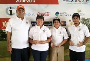 Golfistas Kim, Rodríguez y Valverde conquistan parada Tour Juvenil