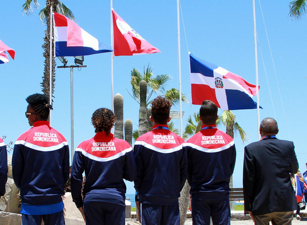 Sosa Nolasco preside ceremonia en Juegos Bolivarianos