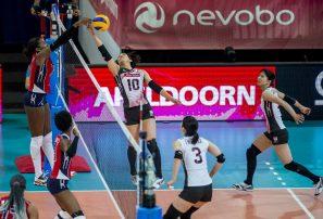 Sexteto femenino se impone ante Japón en Grand Prix Voleibol