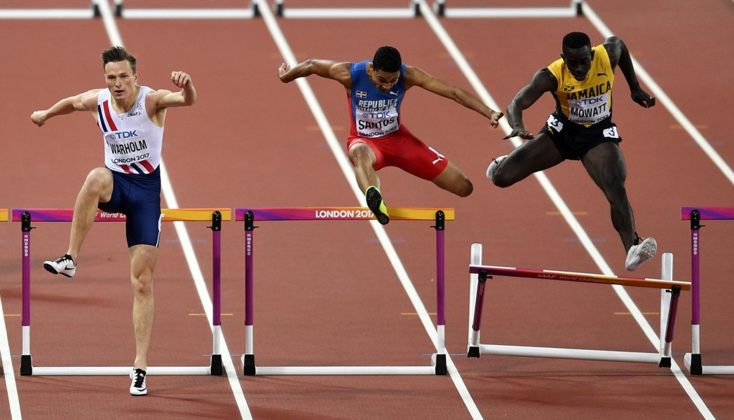 Juander Santos avanza a la final del Mundial de Atletismo