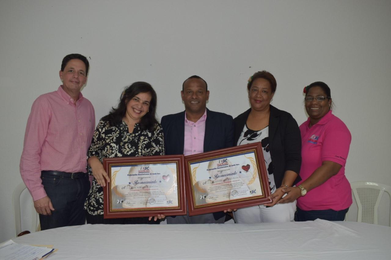Fedojudo distingue a tres mujeres en celebración Día de las Madres