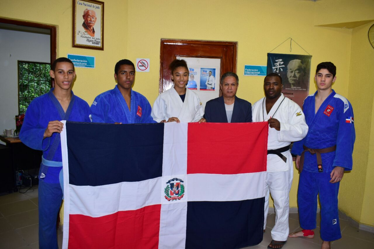 Judocas Pepín, Tornal, Marte y Sánchez, a mundial cadetes de Chile