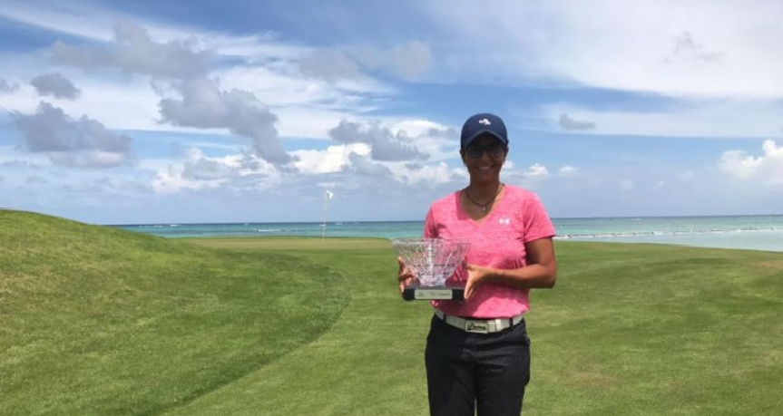 Karina Sánchez conquista los Campeonatos Nacionales de Fedogolf