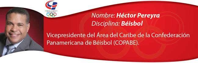 Héctor Pereyra - Béisbol