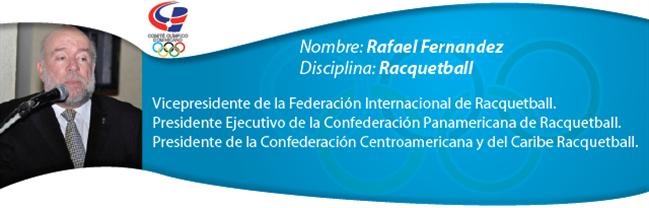 Rafael Fernández - Racquetball