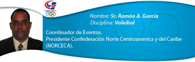 Ramón A. García - Voleibol