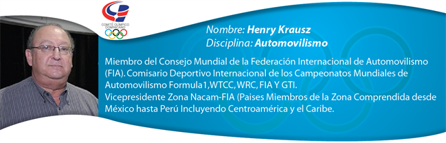 Henry Krausz - Automovilismo