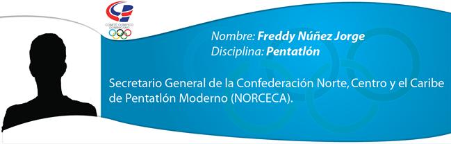 Freddy Núñez Jorge - Pentatlón