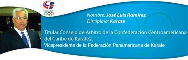 José Luis Ramírez - Karate