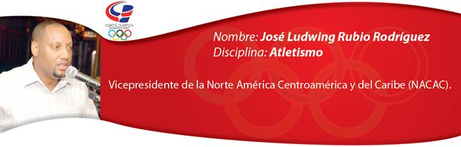 José Ludwing Rubio Rodríguez - Atletismo