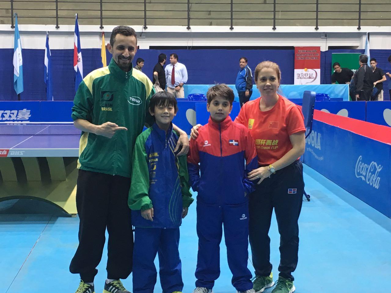 Ramón Vila clasifica a mundial Hopes de tenis de mesa