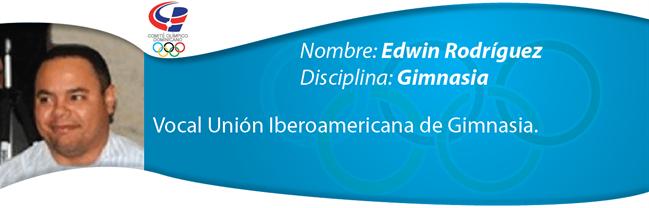 Edwin Rodríguez - Gimnasia