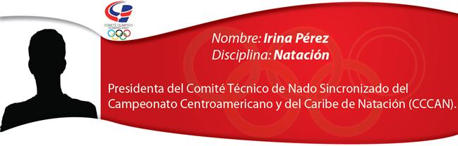 Irina Pérez - Natación