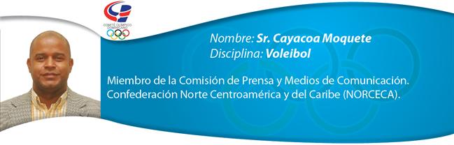 Cayacoa Moquete - Voleibol