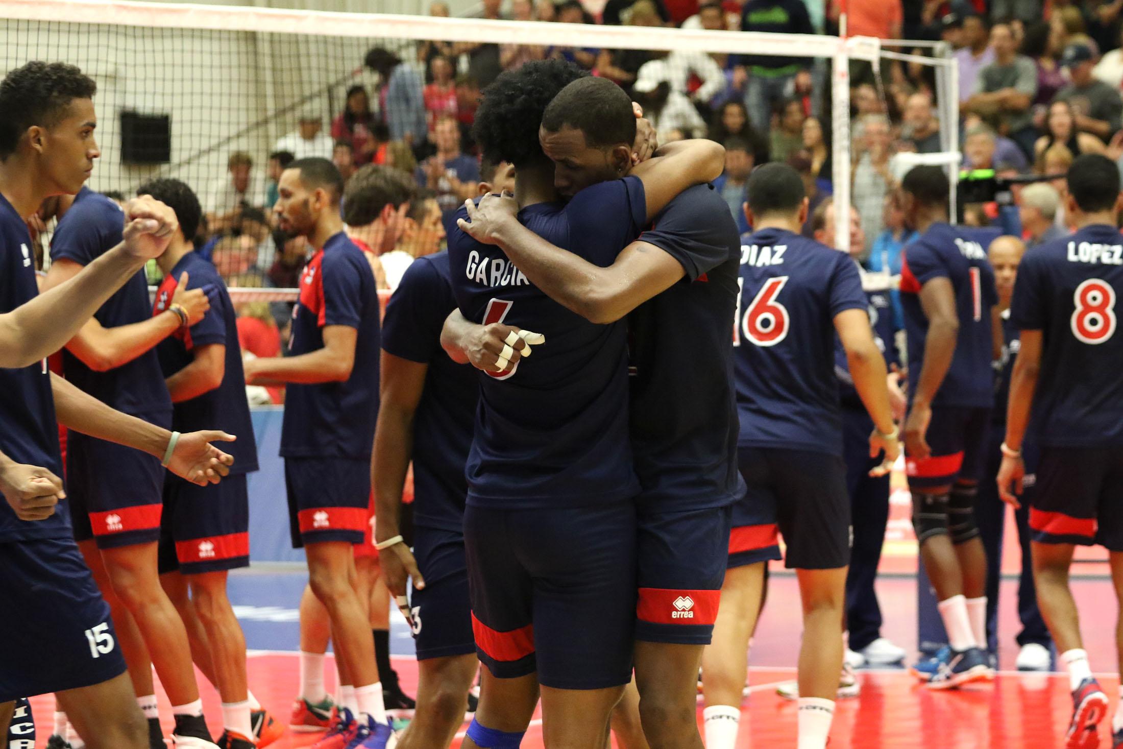 Voleibol masculino RD se queda con plata y clasifica al Mundial