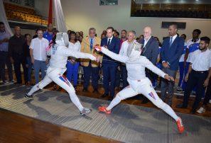 Esgrima inicia torneo nacional dedicado al vicepresidente de Finjus