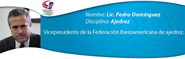 Pedro Domínguez - Ajedrez
