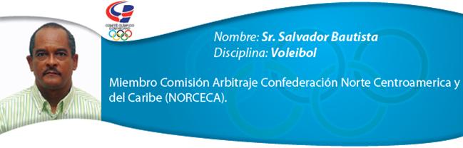 Salvador Bautista - Voleibol