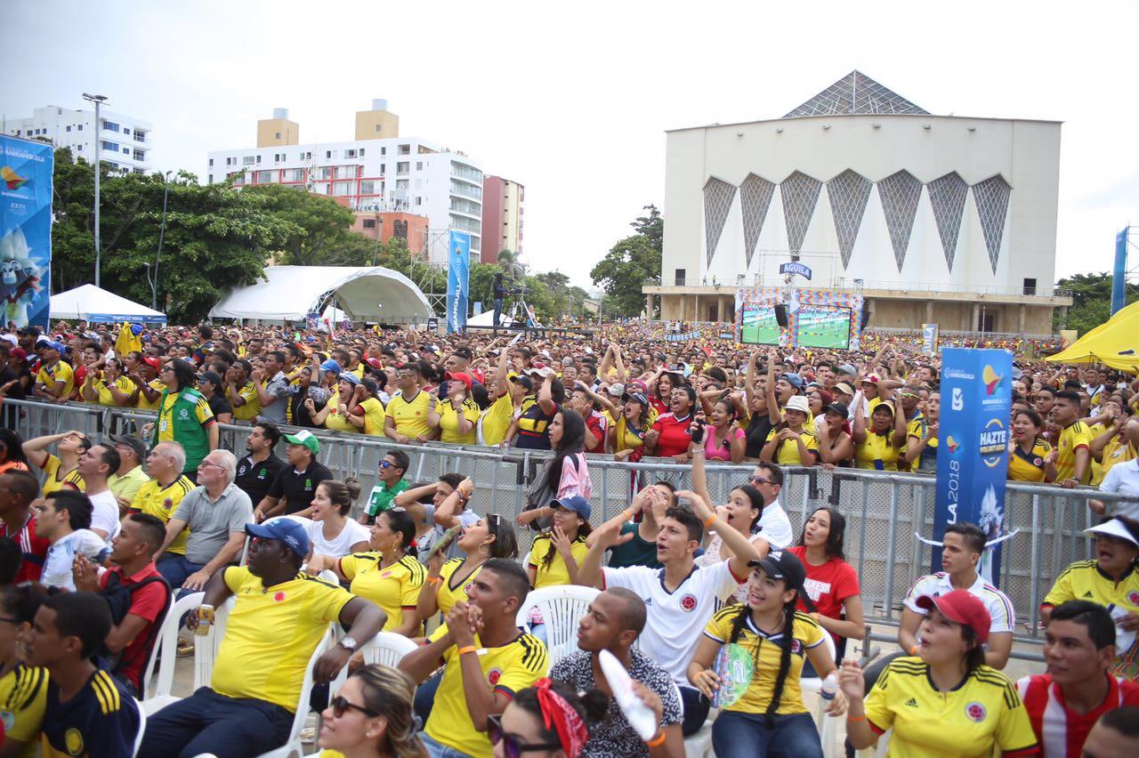 Harán Festival de Fanáticos de cara Centroamericanos Barranquilla 2018