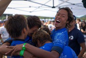 Japón gana el oro por equipo del ISA World Junior Surfing Championship 2017