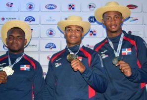 Florentino y Medina ganan oro; RD ocupa primer lugar Panamerican Open Judo