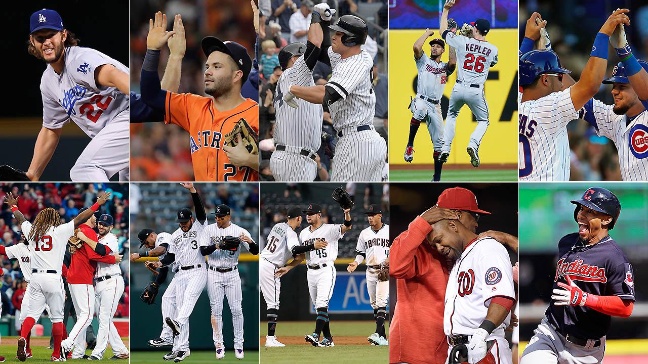 Cinco historias a seguir en la postemporada de MLB