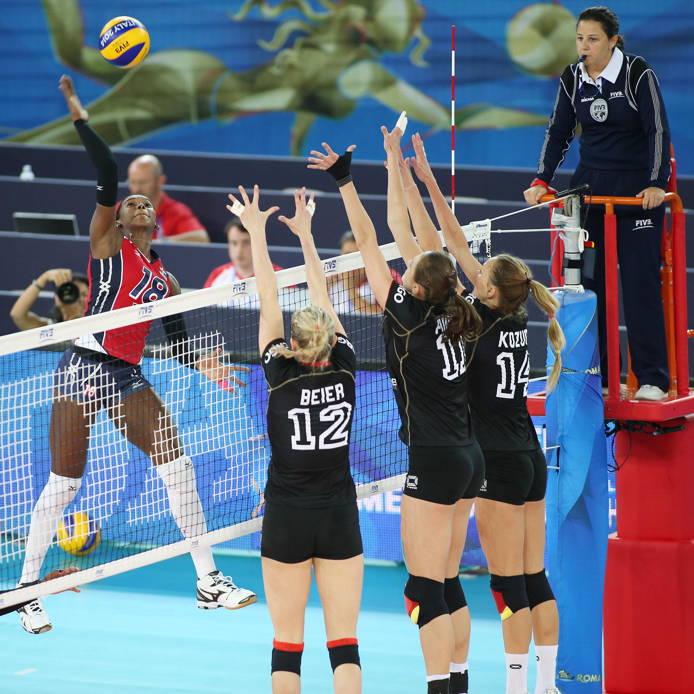 Voleibol femenino RD debutará ante Guatemala