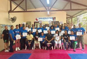 Fedowushu realiza encuentro nacional de capacitación para árbitros