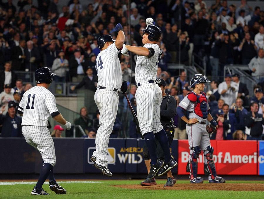Yankees reaccionan y hunden a Mellizos para avanzar a la SDLA