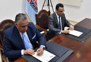 COD y Minerd suscriben acuerdo de cooperación mutua