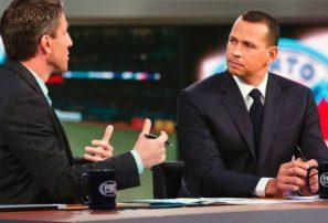 A-Rod exhibe su clase en su nuevo trabajo como analista de ESPN