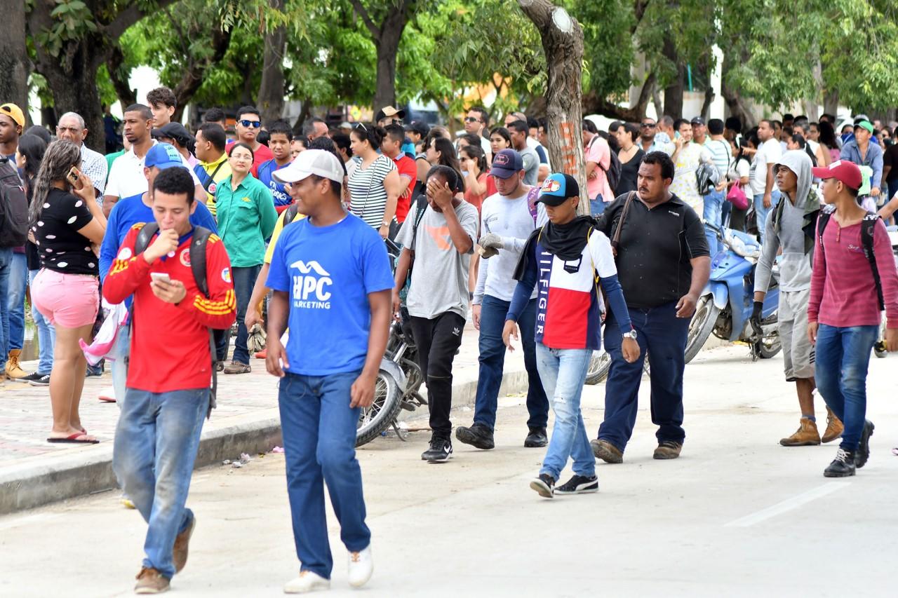 Gran ambiente en Santa Marta con motivo Juegos Bolivarianos