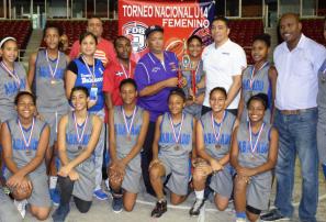 Santo Domingo campeón torneo basket nacional U-14 femenino