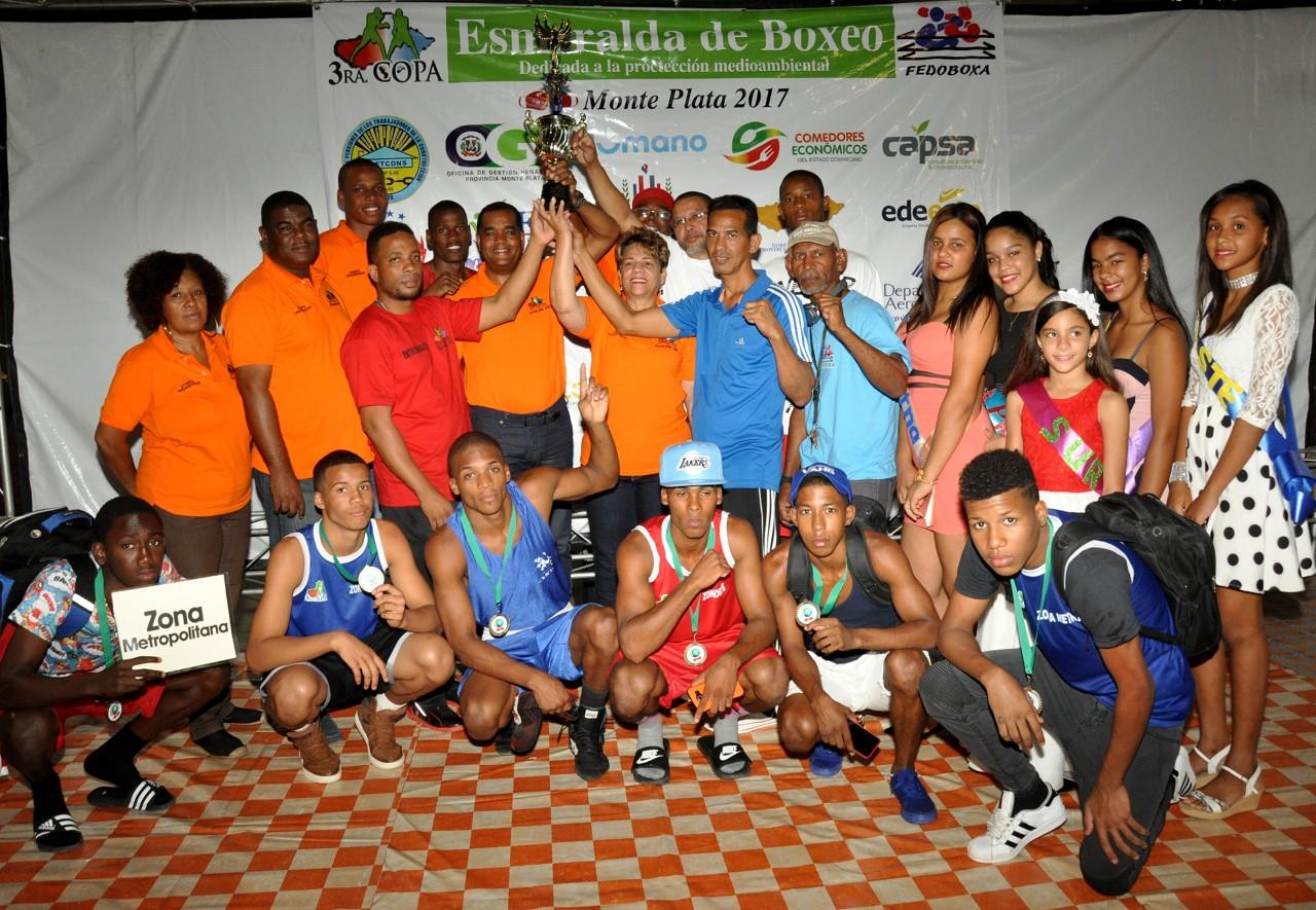Zona Metropolitana conquista  la Copa Esmeralda de Boxeo