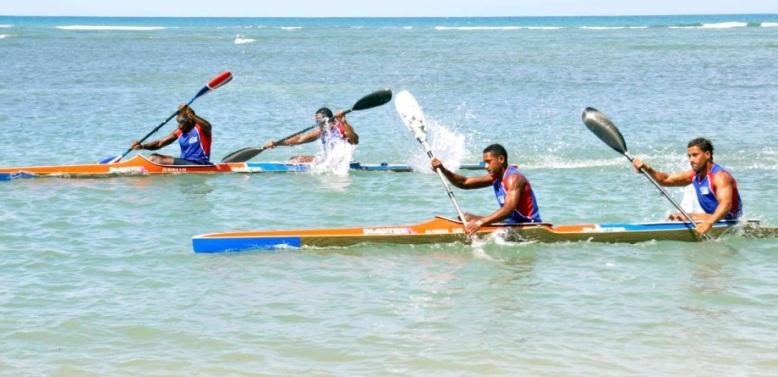 Canotaje RD parte hacia Panamericano en Ecuador