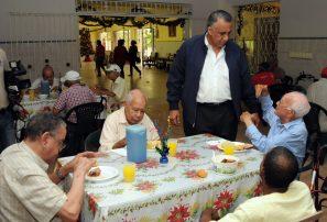 COD compartirá tradicional Cena Navideña con envejecientes