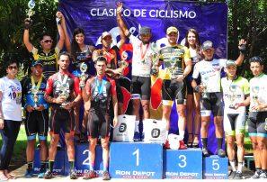 Morel es gran campeón en Master A ciclismo Triple 100